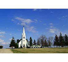L'il Church on the Prairie Photographic Print