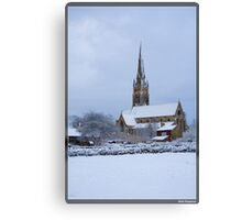 Bradford Church Canvas Print