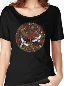 tree of life black Women's Relaxed Fit T-Shirt