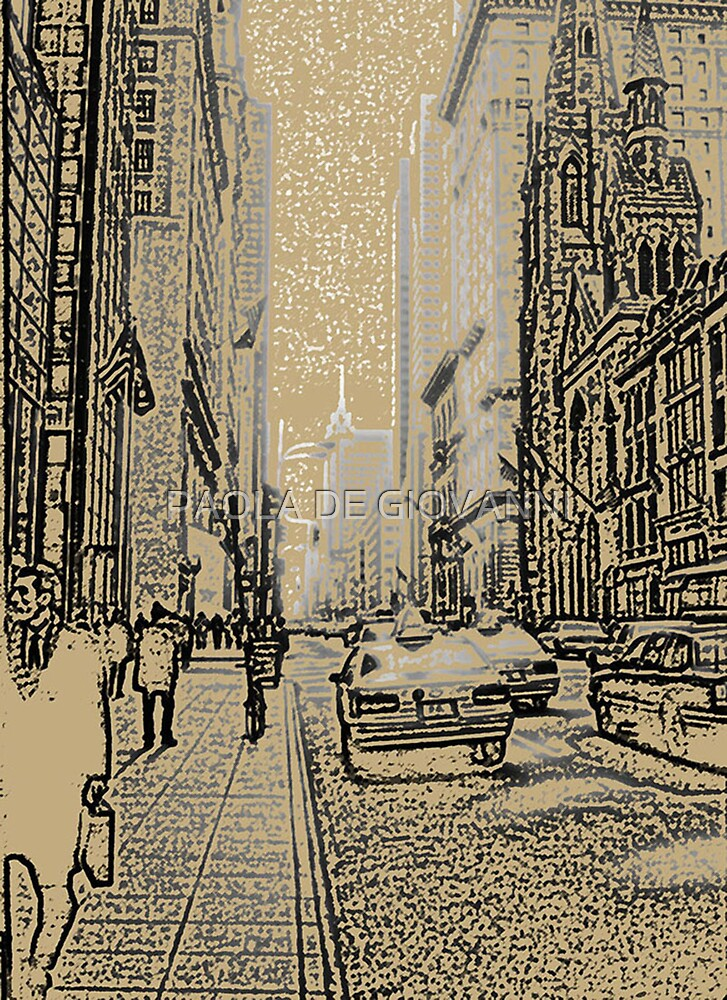 FIRST TIME IN NEW YORK by PAOLA DE GIOVANNI