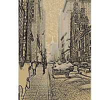 FIRST TIME IN NEW YORK Photographic Print
