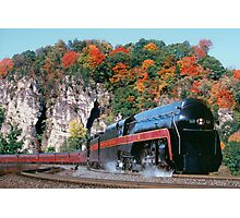 Norfolk & Western #611 - Eggleston, VA Photographic Print