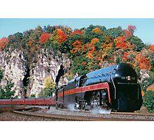Norfolk & Western #611 - Eggleston, VA Photographic Print