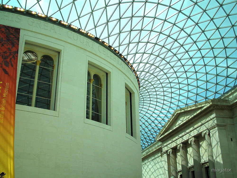 The British Museum - Atrium :: London by miagator