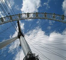 The British Airways London Eye and a Sunny May Sky :: London by miagator