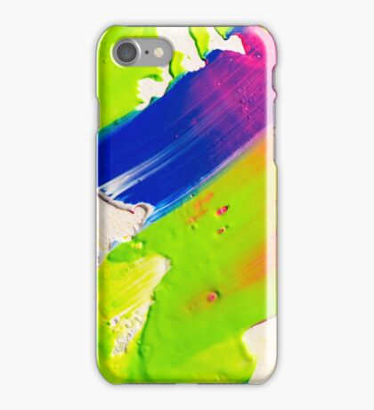The River, acrylic painting iPhone Case/Skin