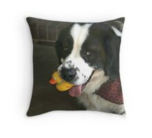 Ducky? What ducky? Throw Pillow