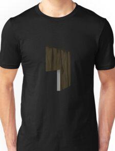 Glitch Homes Wallpaper wooden cave left divide Unisex T-Shirt