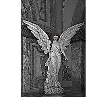 Angel Of Santo Domingo Church In Cuenca Photographic Print