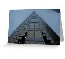 Tall skyscraper Greeting Card