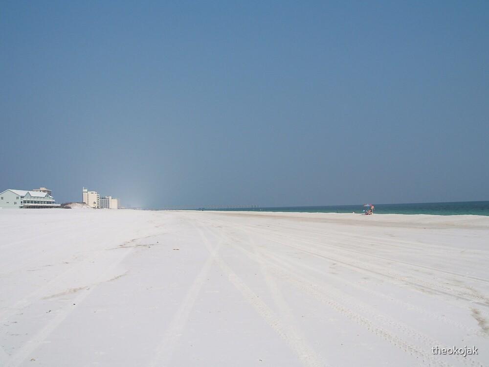 White sand by theokojak