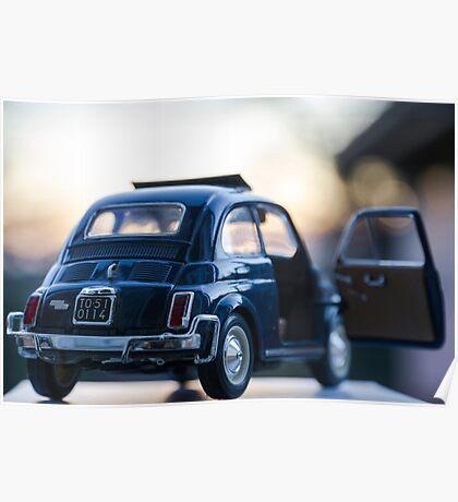 Fiat 500L scale model Poster