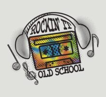 retro rockin it old school mix tape headphones by BigMRanch