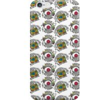retro rockin it old school mix tape headphones iPhone Case/Skin