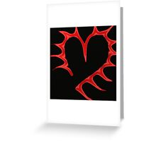 Spike heart Greeting Card