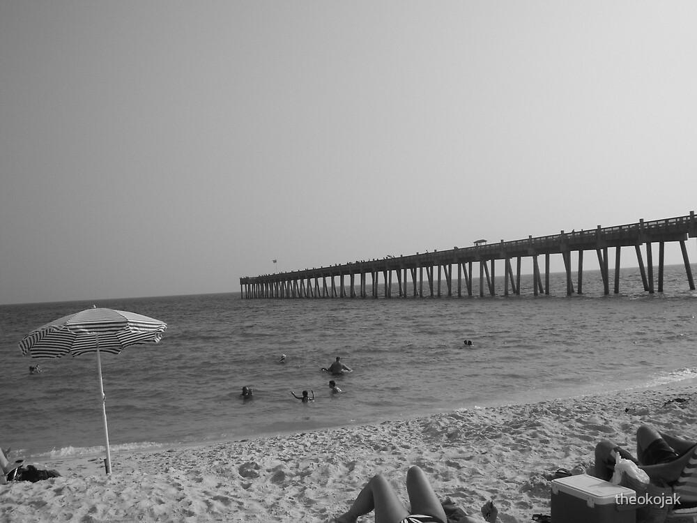 Pensacola Pier by theokojak