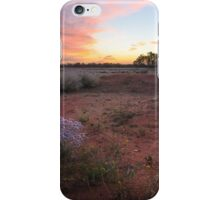 Outback spring sunrise iPhone Case/Skin