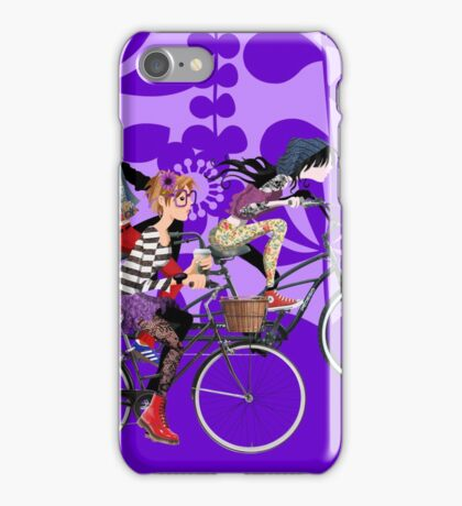 #hipstersracingthroughmymind iPhone Case/Skin