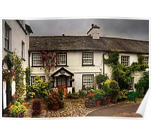 Rose Cottage Poster