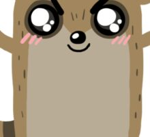 Regular Cute: Rigby Sticker