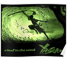 Wind and leafs  Poster