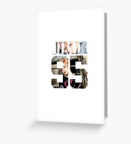 BTS JIMIN YNWA 02 Greeting Card