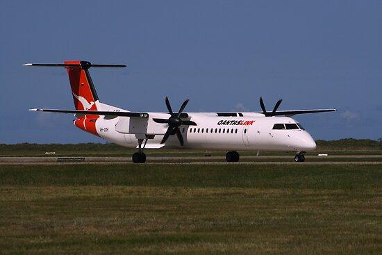 Quot Qantas Dash 8 400 Vh Qoh Quot By Archenar76 Redbubble