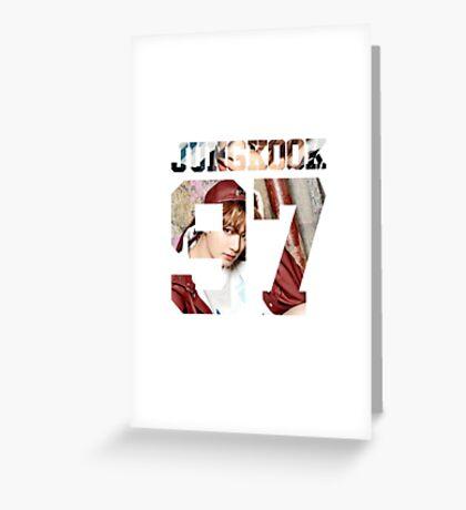 BTS JUNGKOOK YNWA 02 Greeting Card