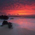 Trigg Beach Sunset by Mark McClare