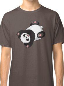 Cute Funny Jumping Cartoon Panda Classic T-Shirt