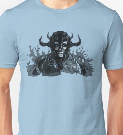 Grim Reaper Skull Head Unisex T-Shirt