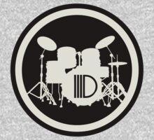 Drummer Sign One Piece - Short Sleeve