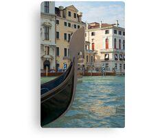 Venice - Gondola Canvas Print