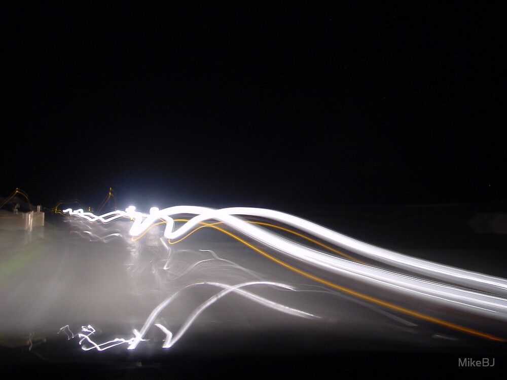 Lights Motion on Black by MikeBJ