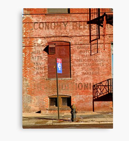 Long Island City-0221 Canvas Print
