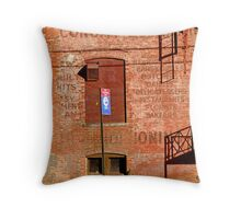 Long Island City-0221 Throw Pillow