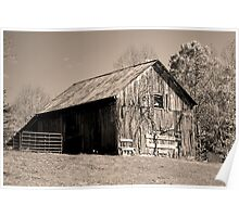 Rusty Old Barn II Poster