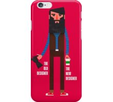 Old designer, new designer iPhone Case/Skin