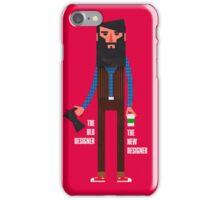 Old designer, new designer iPhone Case/Skin