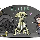 Happy Aliens by GrinWeeper