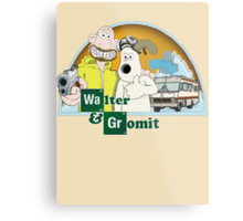Don't forget the methylamine Gromit! Metal Print