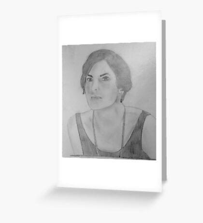 Mary Crawley - Downton Abbey Greeting Card