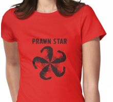 Prawn Star Womens Fitted T-Shirt