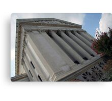Behind The Supreme Court Canvas Print