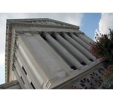Behind The Supreme Court Photographic Print