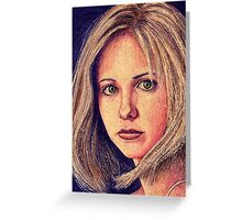 Buffy the Vampire Slayer Greeting Card