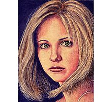 Buffy the Vampire Slayer Photographic Print
