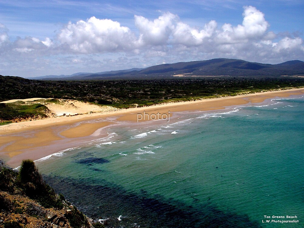 photoj  Australia - Tasmania, Greens Beach by photoj