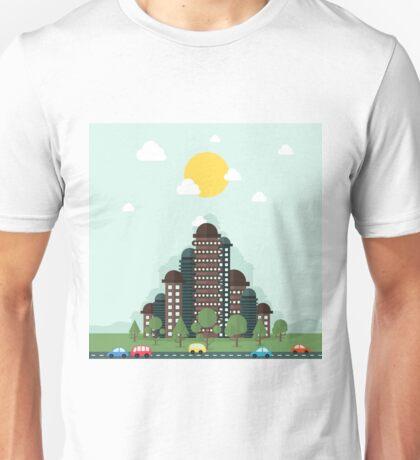 Future city Unisex T-Shirt