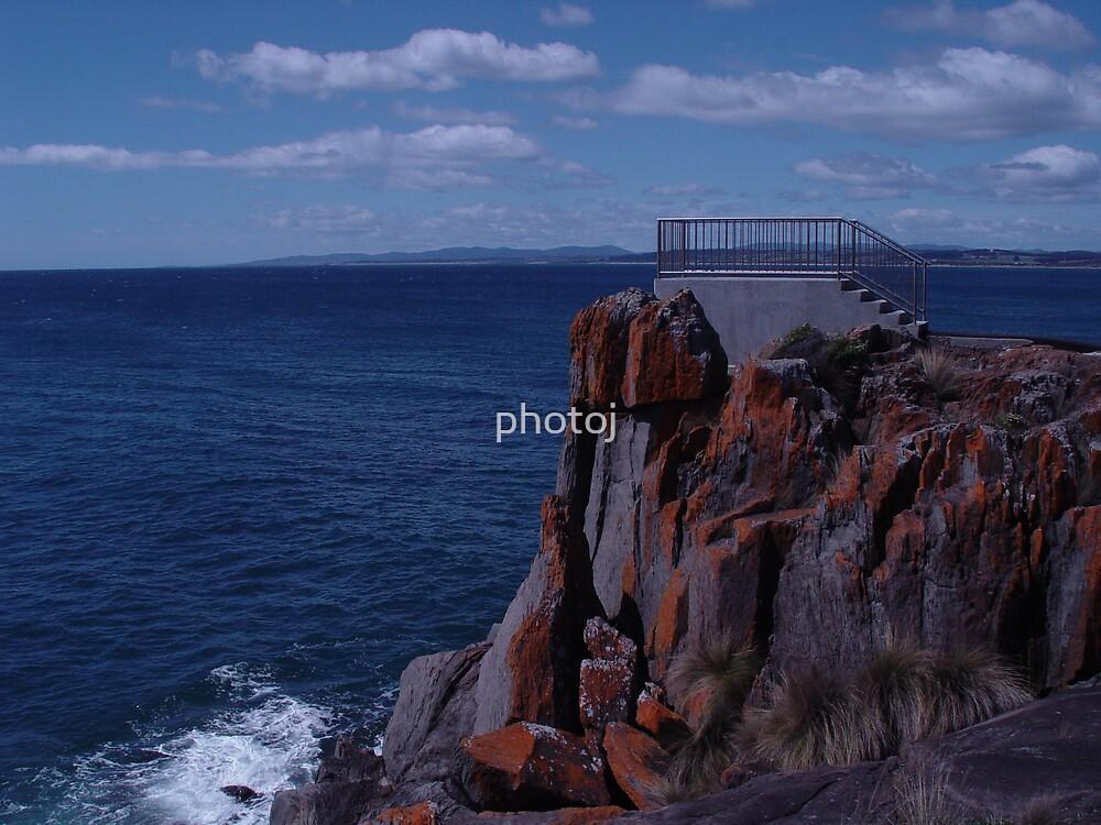 photoj  Australia - Tas, Devonport Bluff  Lookout by photoj
